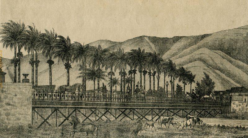 Puente de Hierro sobre El Río Guayre