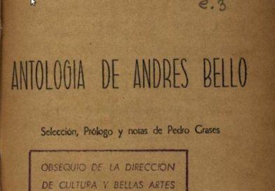 Antología de Andrés Bello