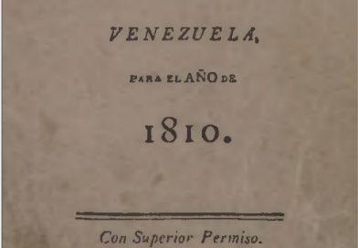 Calendario manual y guia universal de forasteros en Venezuela para el año de 1810