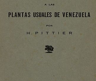 Suplemento a las Plantas usuales de Venezuela